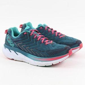 Hoka One One Women Clifton 4 Running Shoes 10 Wide